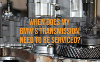 When Does My BMW's Transmission Need To Be Serviced?