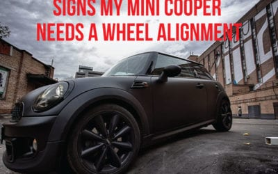 Signs my Mini Cooper Needs a Wheel Alignment